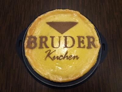 Bruder Werbung Kuchen