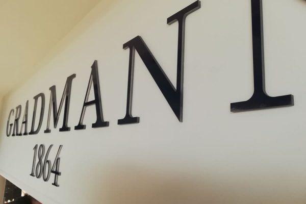 Plexiglasbuchstaben