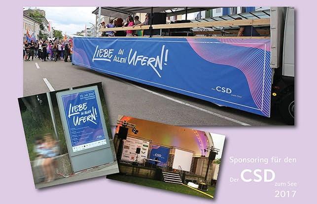 CSD Sponsoring Bodensee
