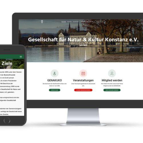 Relaunch Website GeNaKuKo