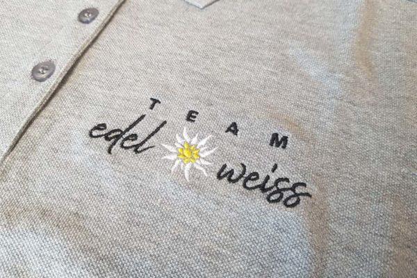 team-edelweis-polo-bestickt